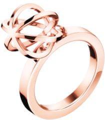 Calvin Klein Oryginalny pozłacany pierścień Pokaż KJ4XPR1002
