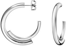 Calvin Klein Ocelové kruhové náušnice Scent KJ5GME000100