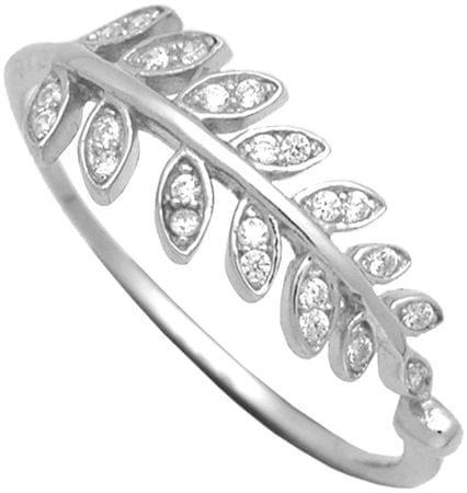 Brilio Silver Strieborný prsteň so zirkónmi 31G3031 (Obvod 54 mm) striebro 925/1000