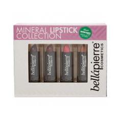 Bellapierre Sada minerálnych rúžov (Mineral Lipstick Collection) 4 x 3,5 g