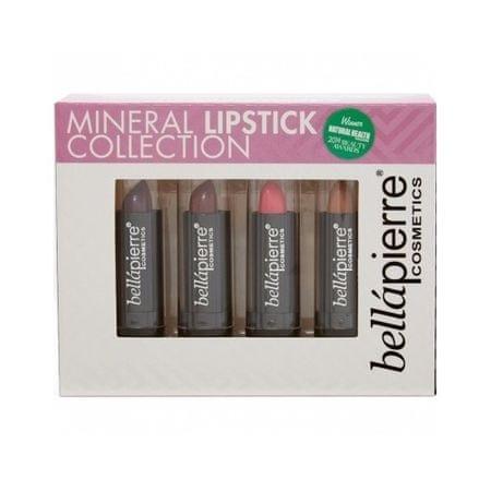 Bellapierre Ásványi anyagokban gazdag ajakrúzs szett (Mineral Lipstick Collection) 4 x 3,5 g (árnyék Evening)