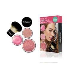 Bellapierre Kosmetická sada na tvář a rty (All About Cheeks And Lips Kit)