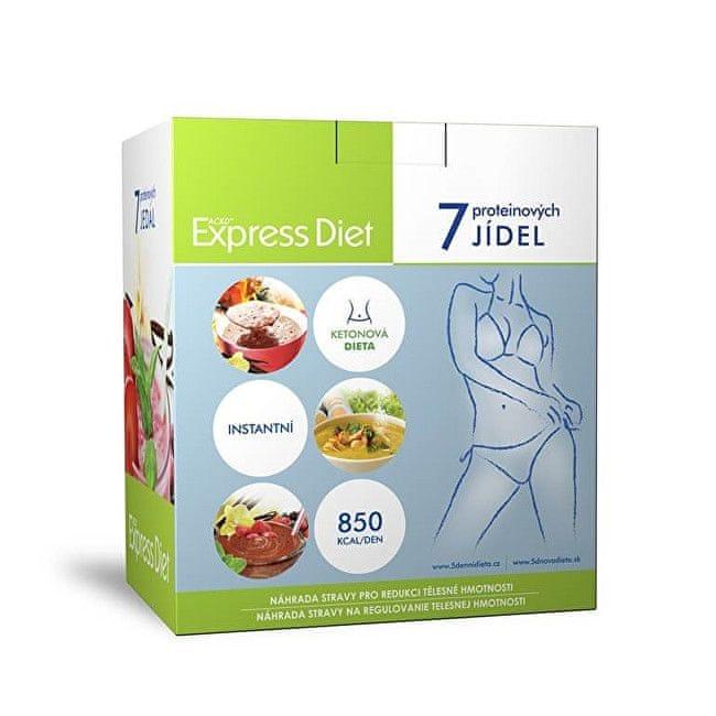 EXPRESS DIET proteinová dieta 7 jídel (336 g)