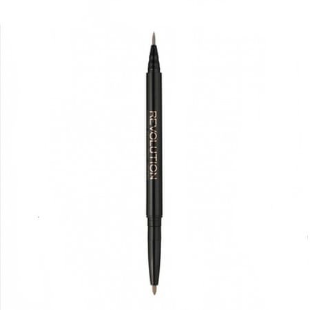 Makeup Revolution Odwracalny eyeliner w udanych fixe (Filc Kohl eyeliner) 18 g (cień Black)