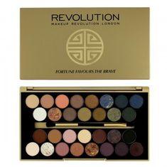 Makeup Revolution Cień do powiek ograniczona do palet szczęście sprzyja dzielnego (Cień Paleta) 16 g