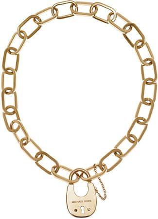 Michael Kors Masívny náhrdelník so zámkom MKJ4637710