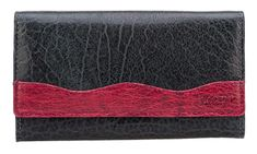Lagen Černovínová Női bőr pénztárca fekete / Wine 4013