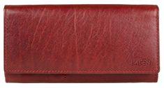 Lagen Nő piros bőr pénztárca Red V-102 / T