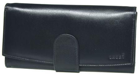Lagen Dámska čierna kožená peňaženka Black 5152  0958f69181c