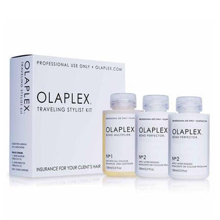 Olaplex Sada pre farbené alebo chemicky ošetrené vlasy (Traveling Stylist Kit) 3 x 100 ml
