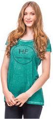 Horsefeathers Dámske tričko Friday Washed Opal SW611C
