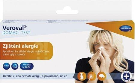 Veroval Zistenie alergie domáci test