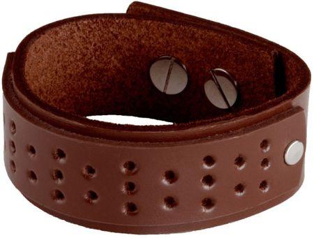 Cow Style Tokio barna bőr karkötő CS03-5004