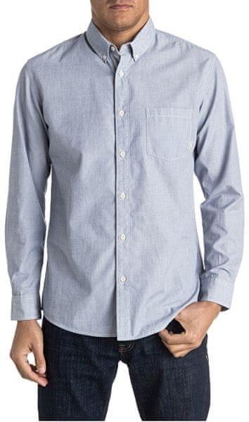 Quiksilver Pánská košile Everyday Wilsden Ls Nightshadow Blue EQYWT03378-BPT0 (Velikost XL)