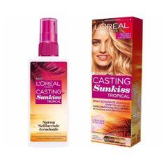 L'Oréal Postupne zosvetľujúci sprej pre tmavo hnedé až blond vlasy (Casting Sunkiss Tropical) 125 ml