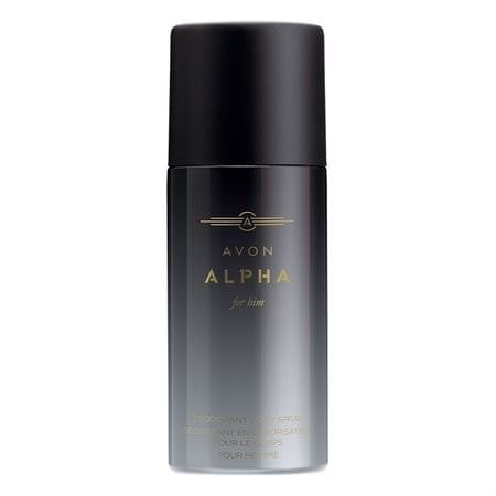 Avon Tělo vý sprej Alpha (Body Spray) 150 ml