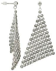 Troli Exkluzivní náušnice Dazzle Crystal