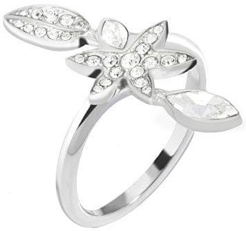 Morellato Oceľový prsteň s kvetinou Natura SAHL17 (Obvod 58 mm)