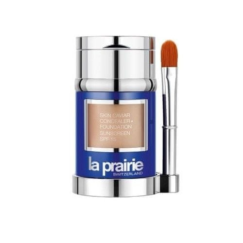 La Prairie Luxusní tekutý make-up s korektorem SPF 15 (Skin Caviar Concealer Foundation) 30 ml + 2 g (Odstín Go