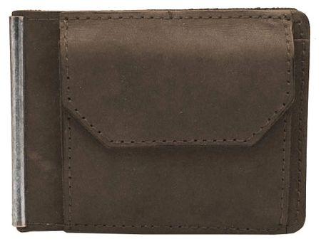 Wildskin Hnědá kožená peněženka 20406-H