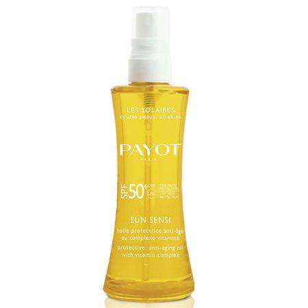 Payot Ochranný anti-aging olej na opaľovanie SPF 50 Sun Sensi ( Protective Anti Aging Oil) 125 ml