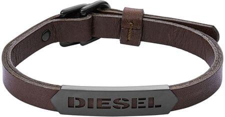 Diesel Férfi bőr karkötő DX1001001  58348bc585