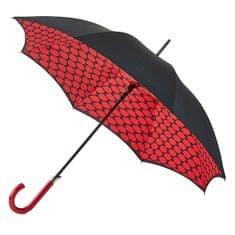 Dámský holový deštník Bloomsbury 2 Lips Grid L723