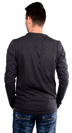7517420c6a2 Cars-Jeans Pánské černé tričko s potiskem Porzo Black 4597201 ...