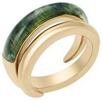 Michael Kors Dámsky pozlátený prsteň MKJ5933710 (Obvod 56 mm)
