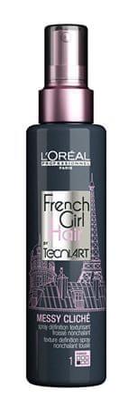 Loreal Professionnel Stylizacji Tecni.Art lakier do włosów (francuski Dziewczyna Messy Hair Cliche) 150 ml