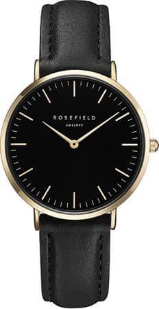 Rosefield The Tribeca Black-Black-Gold