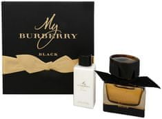 Burberry My Burberry Black - EDP 50 ml + tělové mléko 75 ml