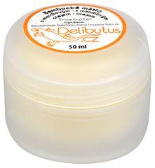 Delibutus Bambucké máslo s mandlovým olejem 50 ml
