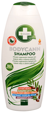 Annabis Bodycann přírodní šampon 250 ml
