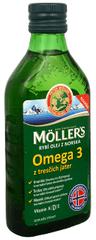 Möller´s Möller`s rybí olej Omega 3 z tresčej pečene 250 ml