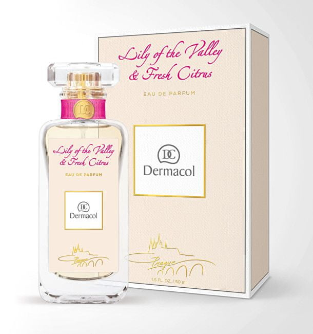 Dermacol Parfémovaná voda Lily of the Valley and Fresh Citrus 50 ml