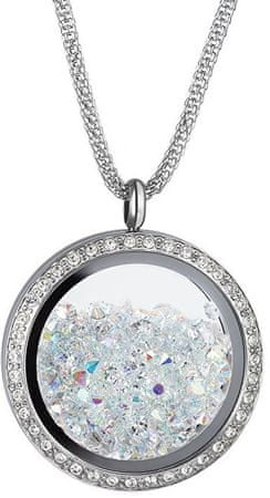 Preciosa Luxusní náhrdelník s krystaly Moonlight 7290 42