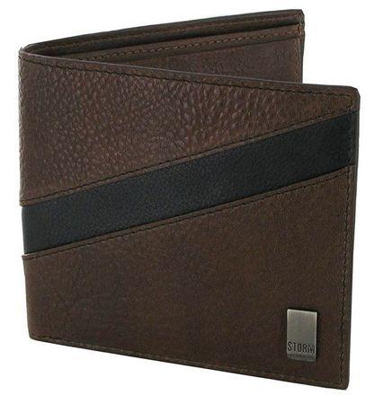 Storm Pánská kožená peněženka Bernard Leather Wallet Brown/Black STABY83