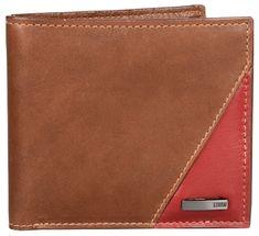 Storm Pánska kožená peňaženka Flash Leather Wallet Brown/rust STABY85