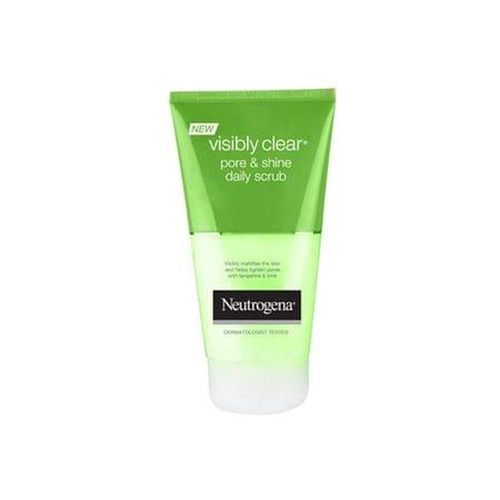Neutrogena Peeling do codziennego użytku WIDOCZNE & Shine Wyczyść porów (Dzienne Scrub) 150 ml