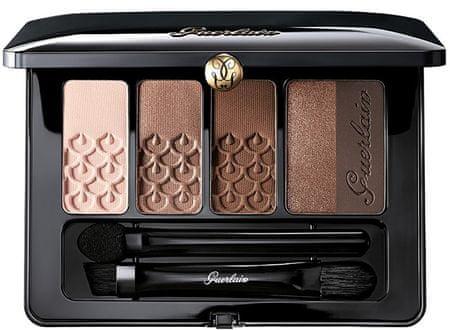 Guerlain Luxusní paletka očních stínů (Palette 5 Couleurs) 6 g (Odstín 02 Tonka Imperiale)
