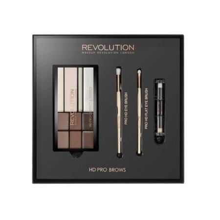 Makeup Revolution Ajándék szemöldökformázó szett (HD Pro Brows)