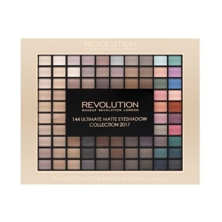Makeup Revolution Paletka 144 matných očních stínů (Ultimate Eye Shadow Matte Palette) 116 g