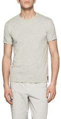 Calvin Klein Pánske tričko CK Sleep Cotton S   S Crew Neck NB1164E-080 Grey 091126dadf8