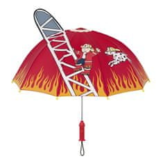 Blooming Brollies Detský palicový dáždnik Kidorable Fire Chief U0100FIR