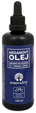 Renovality Arganový olej za studena lisovaný 100 ml