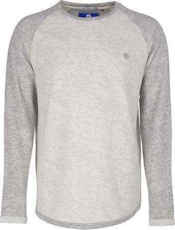 Noize Pánské triko s dlouhým rukávem Offwhite 4412105-00 (Velikost M)