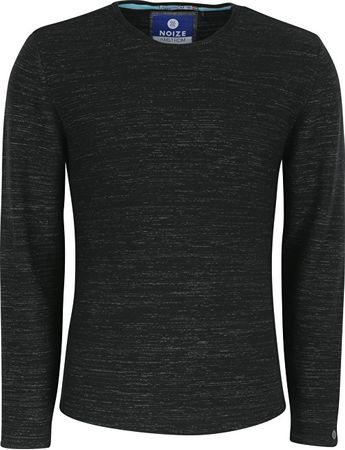 Noize Pánské triko s dlouhým rukávem Black 4423110-00 (Velikost M)