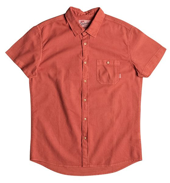 Quiksilver Pánská košile Time Box Burnt Sienna EQYWT03444-NMH0 (Velikost M)