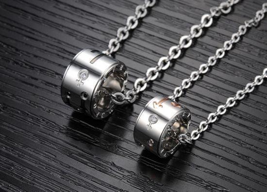 Troli Ogrlica za moške partnerja KNSC-055-MALE